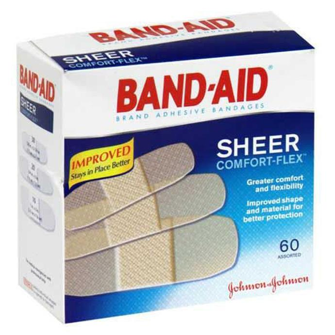 johnson and johnson band aid 60ct assorted first aid johnson