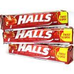 Halls Cough Drops 9ct Cherry Cough Suppressant