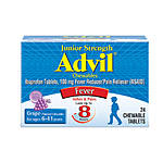 Advil Childrens Jr Tablets 24ct Chewable