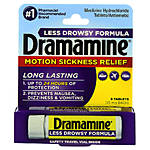 Dramamine Adult 8ct Less Drowsy Motion Sickness Relief