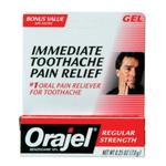 Orajel Toothache Pain Relief Regular .25oz Tube