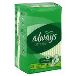 Always Ultra Thin Pads Super Longs 32ct w/Flex Wings