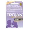 Trojan Condoms 3pk Light Purple Her Pleasure Lubricated