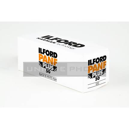 Ilford Pan F Plus 120 Black  and  White Negative (Print) Film (ISO-50)