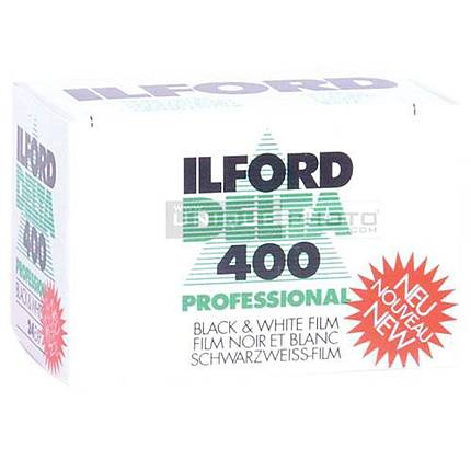 Ilford Delta-400 Professional 135-24 Black  and  White Negative (Print) Film