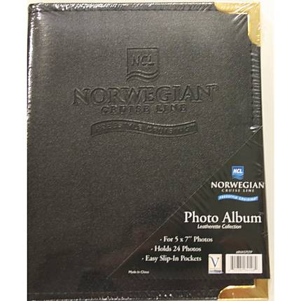 Innovision 5 x 7 In. Norwegian Cruise Logo Album (24 Photos)