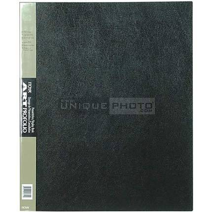 Itoya 14x17 Art Profolio Storage/Display Book 24 Sleeves/48 Images