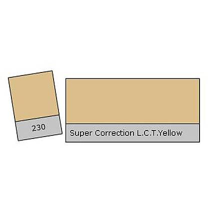 LEE Filters Super Collection L.C.T Yellow Lighting Correction Gel Filter