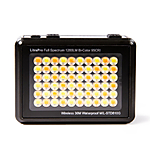 LITRA LitraPro Bi-Color On-Camera Light with Dome Diffuser, Shoe Mount  and  USB