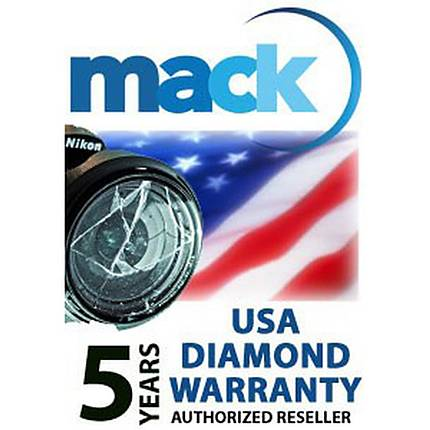 Mack 5YR Diamond Warranty Under 4000 For Digital Still, Video, Lens, Flash