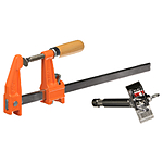 Matthews 12in Furniture Clamp w/Bar Clamp Adapter