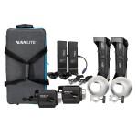 NanLite Forza 500 LED Monolight 2 Light Kit