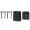Nanlite Fabric Barndoors and Grid for PavoTube 30C