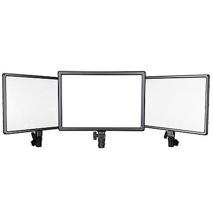 Nanlite Lumipad 25 High-Output Bi-Color Soft Light LED 3x Panel Kit