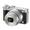 Nikon 1 J5 Mirrorless Digital Camera with 10-30mm  and  30-110mm Lenses-Silver