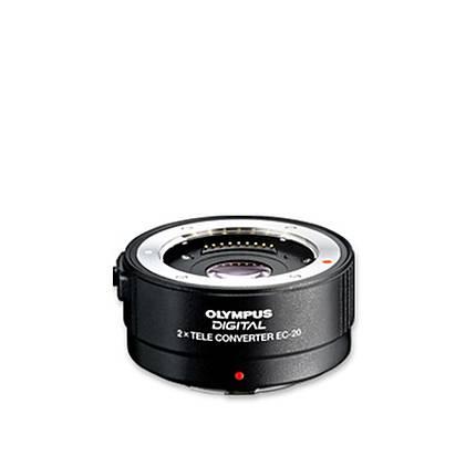 Olympus Zuiko Digital EC-20 2.0x Teleconverter Lens - Black
