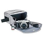 Olympus E-PL9 Onyx Black Body with Silver 14-42mm Lens, Case, Strap, SD Card