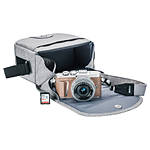 Olympus E-PL9 Honey Brown Body w/ Silver 14-42mm Lens, Case, Strap, SD Card