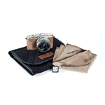 Olympus PEN E-PL10 Camera Brown w/14-42mm Lens, Case, Lens Cloth,  and  SD Card