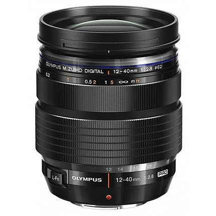 Olympus M.Zuiko ED 12-40mm f/2.8 PRO Zoom Lens for Micro 4/3 System - Black