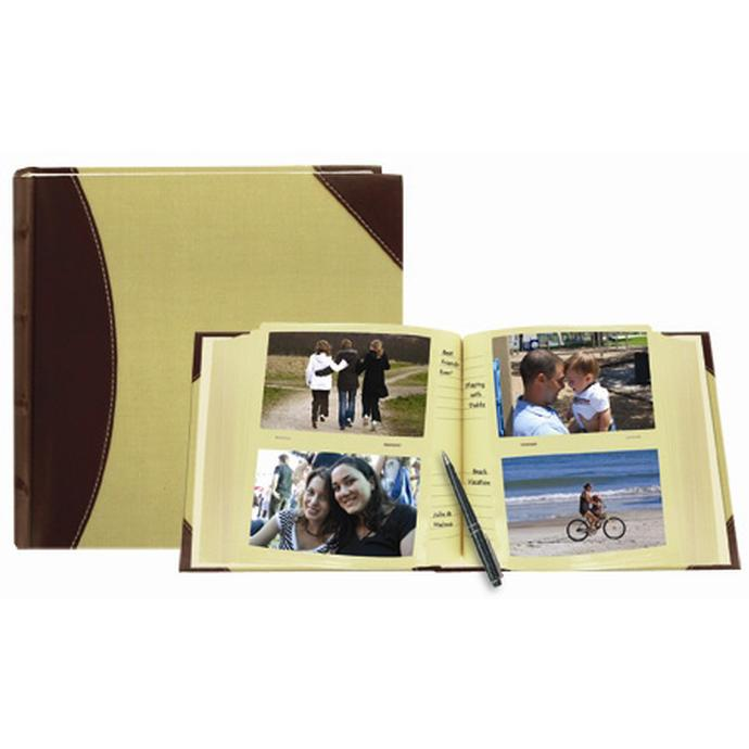 pioneer 4 x 6 in high capacity photo album 300 photos brown - 4x6 Photo Albums