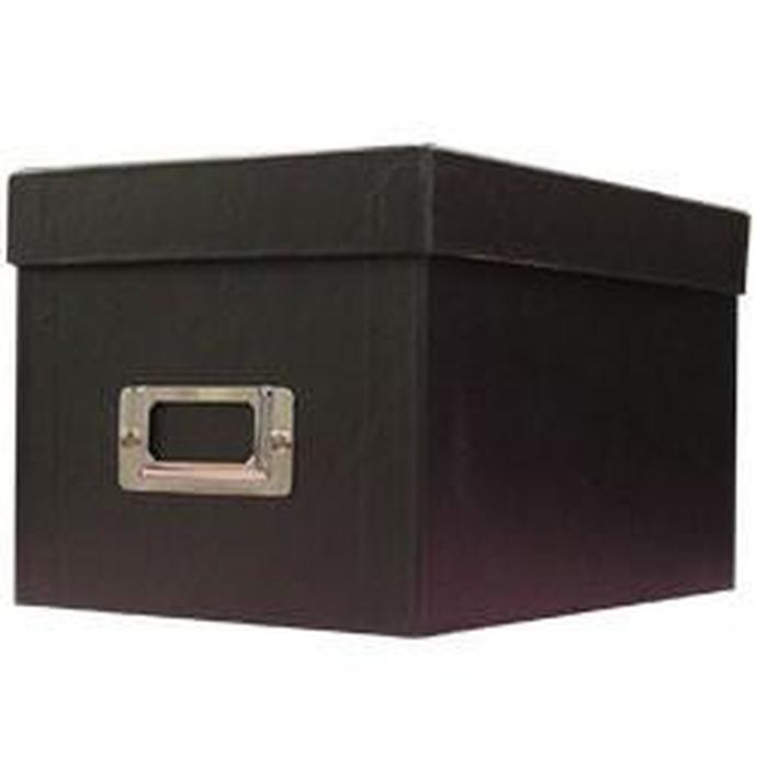 pioneer photo albums cddvd storage box black