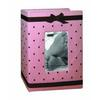 Pioneer 4 x 6 In. Baby Embroidered Frame Fabric Photo Album (100 Pages)-Pink