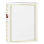 Pioneer 4 x 6 In. Post Bound Bi-Directional Photo Album (200 Photos) - White