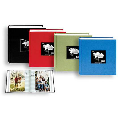 pioneer 4 x 6 in fabric frame photo album 100 photos - 4x6 Photo Albums