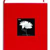 Pioneer 4 x 6 In. Fabric Frame Bi-Directional Photo Album (300 Photos) - Red