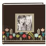 Pioneer Designer Raised Frame Photo Album (200 4x6 photos) - Garden