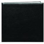 Pioneer 12 x 12 In. Top Loading Leatherette Cover Scrapbook - Black