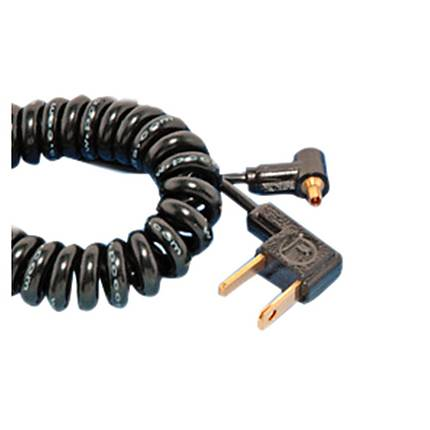 Paramount 3ft Coiled Household To PC Male Flash Cord (2-3C)