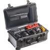 Pelican 1510SCB Water Tight / Divider  Hard Case W/ Lid Organizer (Black)