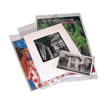 Print File 9X12 (100) 4 Mil Poly Bags