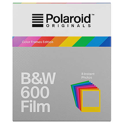 Polaroid B and W Film for 600 Color Frame