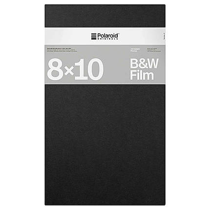 Polaroid Instant B and W Film for 8x10