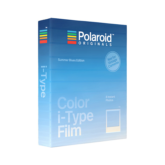 acb2239319 Polaroid Originals Color i-Type Instant Film (Summer Blues Edition)   Film  Cameras   Polaroid at Unique Photo