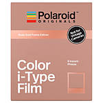 Polaroid Color Film for i-Type Rose Gold Frame