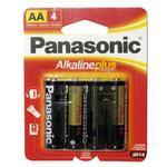 PANASONIC AA ALKALINE 4-PACK BATTERY