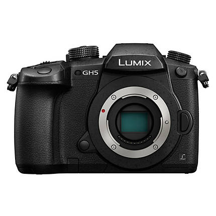 Panasonic Lumix GH5 Mirrorless Micro 4/3 Digital Camera Body Only - Black