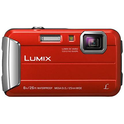 Panasonic Lumix DMC-TS30R Active Lifestyle Tough Camera - Red