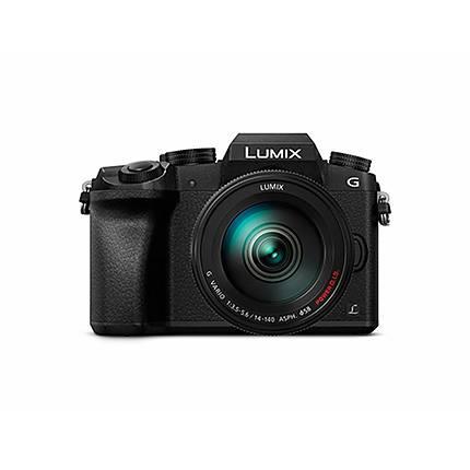 Panasonic LUMIX G7 Mirrorless Digital Camera with 14-140mm Lens Black