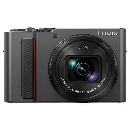 Panasonic Lumix DC-ZS200 Digital Camera - Silver