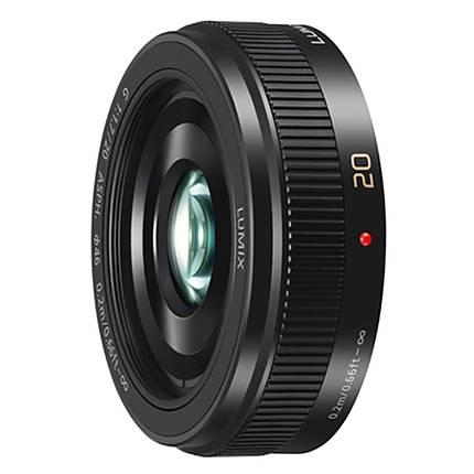 Panasonic Lumix G 20mm f/1.7 II ASPH. Standard Lens - Black