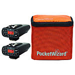 Pocket Wizard - Plus IV Bonus Bundle 3 - w/ 2 Transceivers  and G-Wiz Case