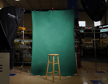 Gravity Backdrop Green Painted Backdrop 5.2 ft x 8.2 ft.