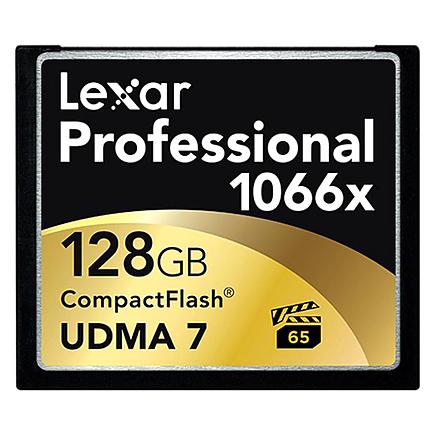 Lexar 128GB Professional 1066x Compact Flash Card