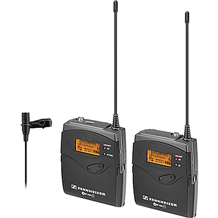 Sennheiser Camera Mount Wireless Microphone System with ME2 Lava (Black)
