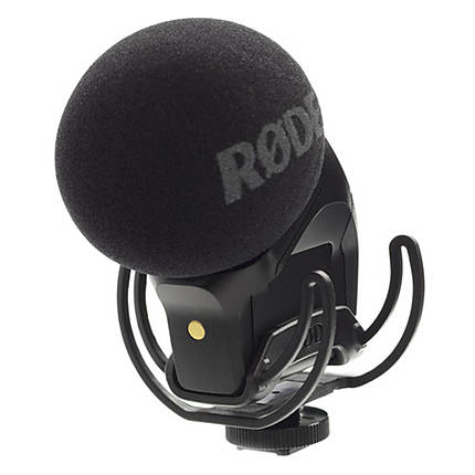 Rode Stereo VideoMic Pro with Rycote Lyre Suspension Mount